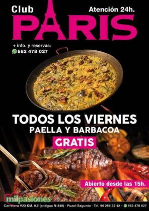 LA DIVERSION ESTA EN CLUB PARIS SAGUNTO